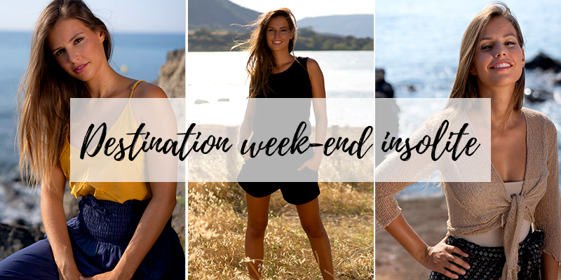 voyages week end idées look lookbook mode femme vêtement tendance