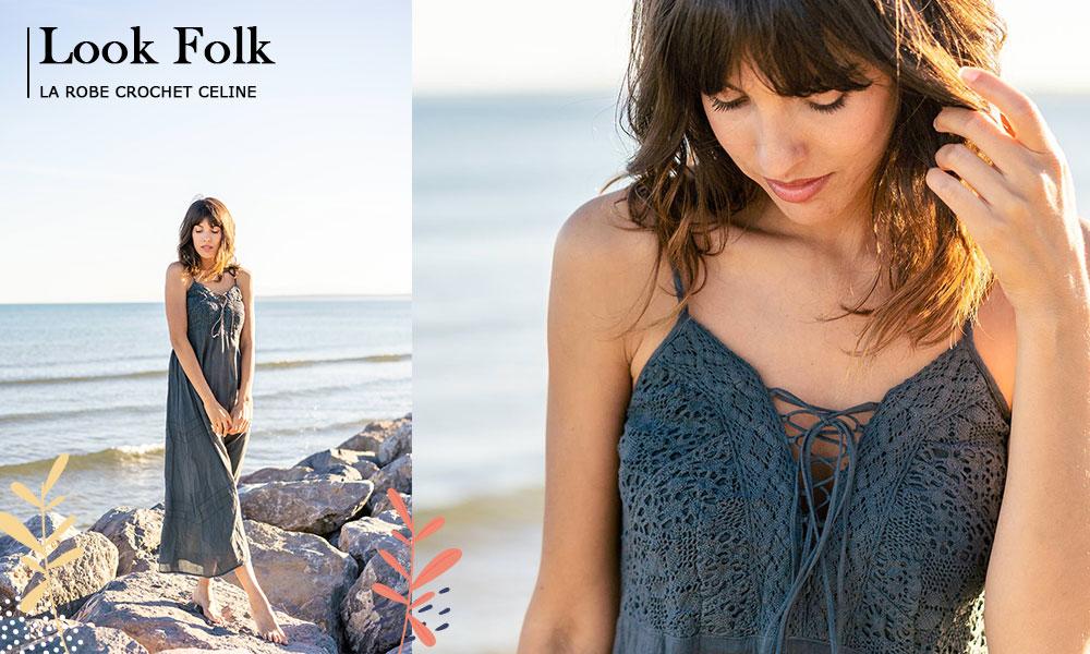 robe-folk-crochet-braderie-printemps-mode-femme-vêtements-ethnique