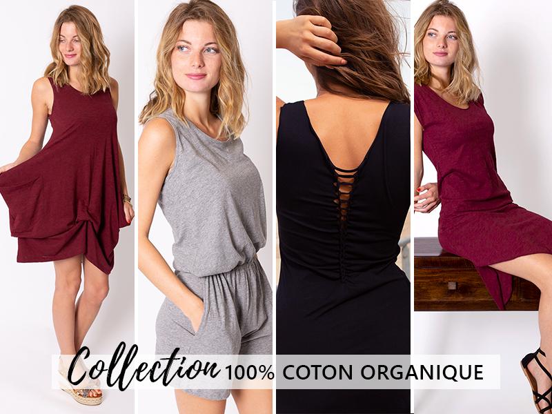 mode ethique coton organique bio mode femme vêtement tendance