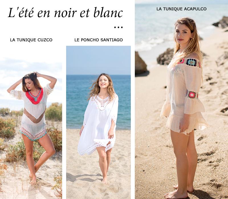 look plage blanc vêtements femme tendance