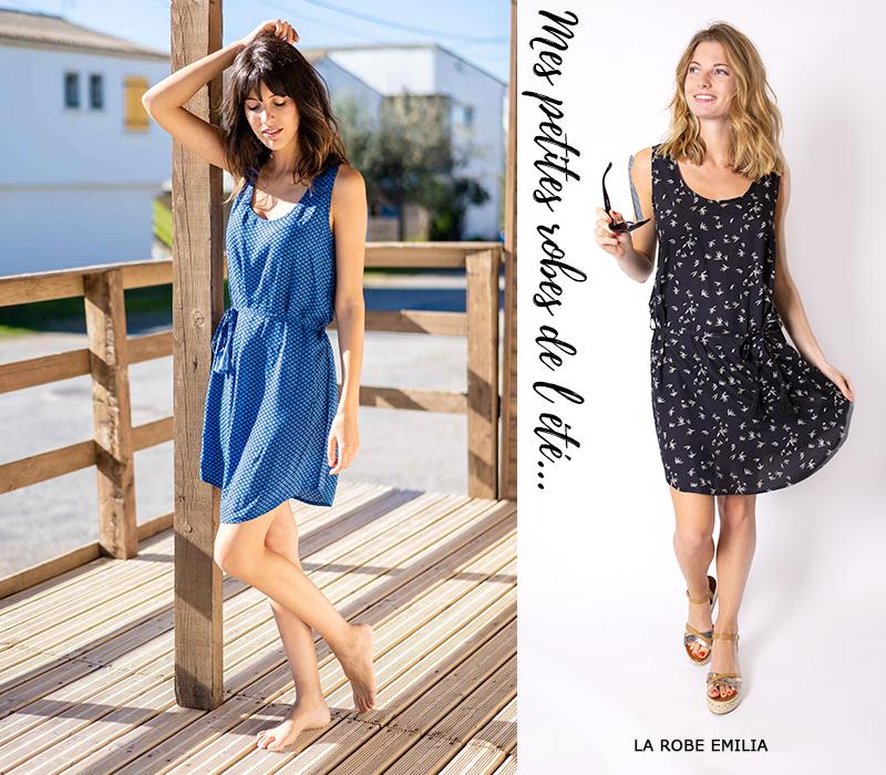 mode femme tendance lookbook idees look robe courte été imprimée urbain citadine