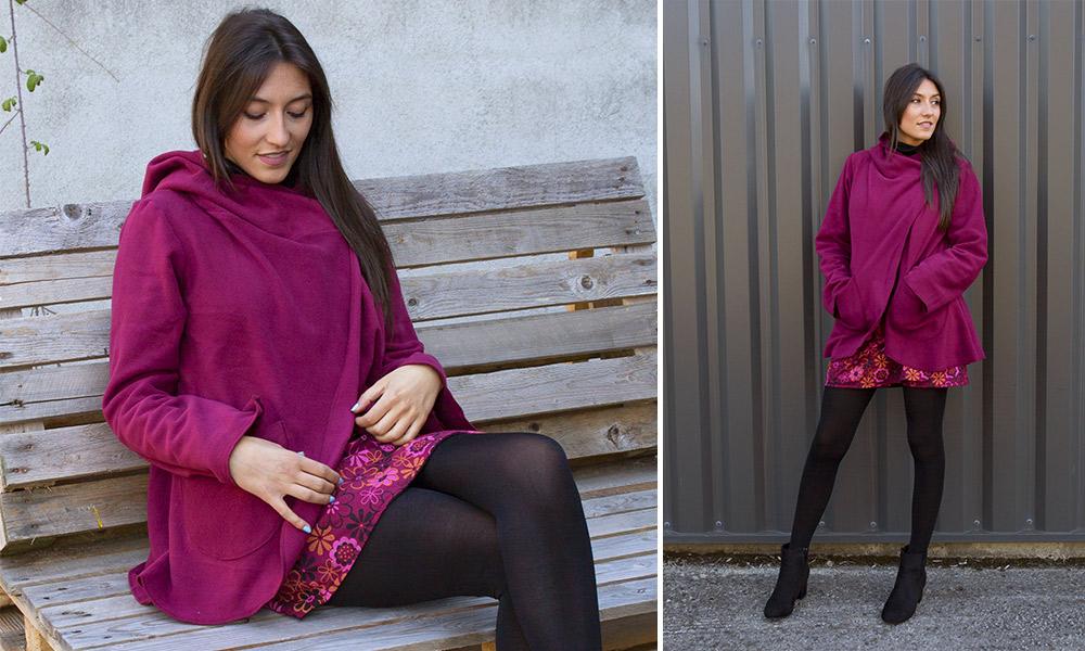 veste polaire look prune mode femme automne hiver