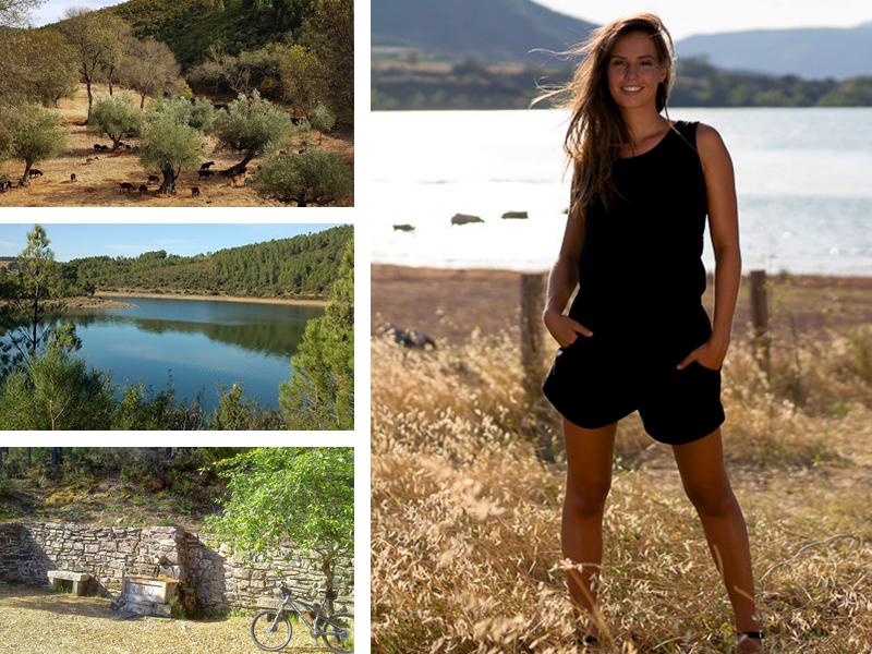 combi short noir look portugal mode femme vêtements tendance
