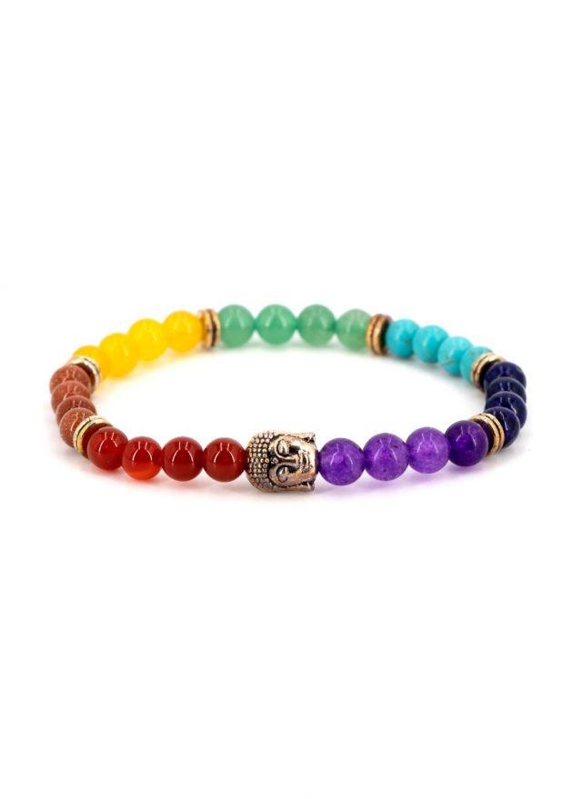 bracelet fantaisie femme 7 chakras