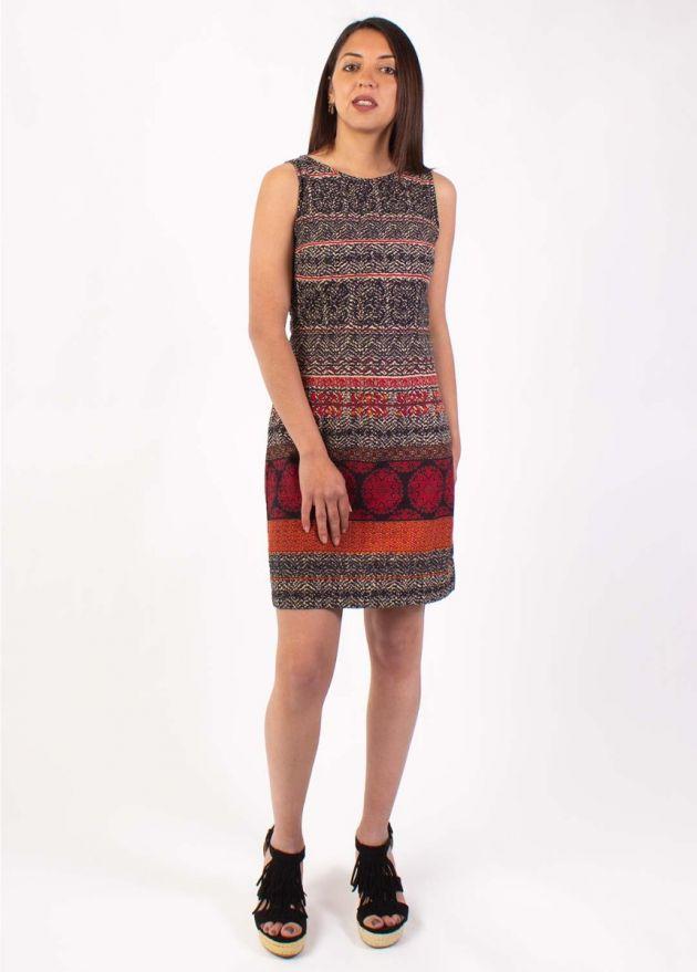robe ethnique boheme femme Adriana face
