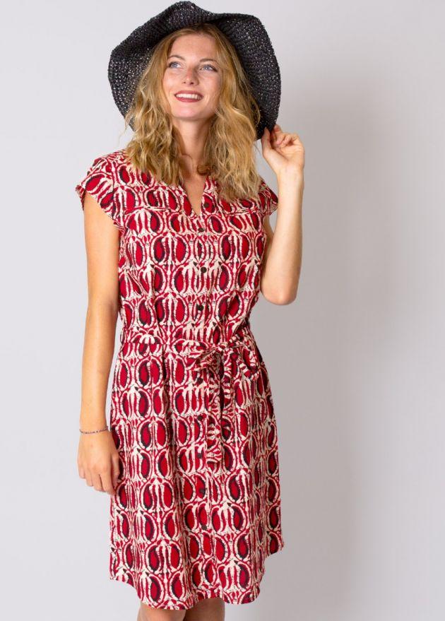 robe-coton-imprimé-ethnique