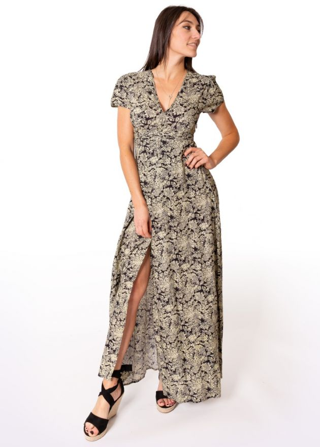 robe-longue-romantique-fleurie