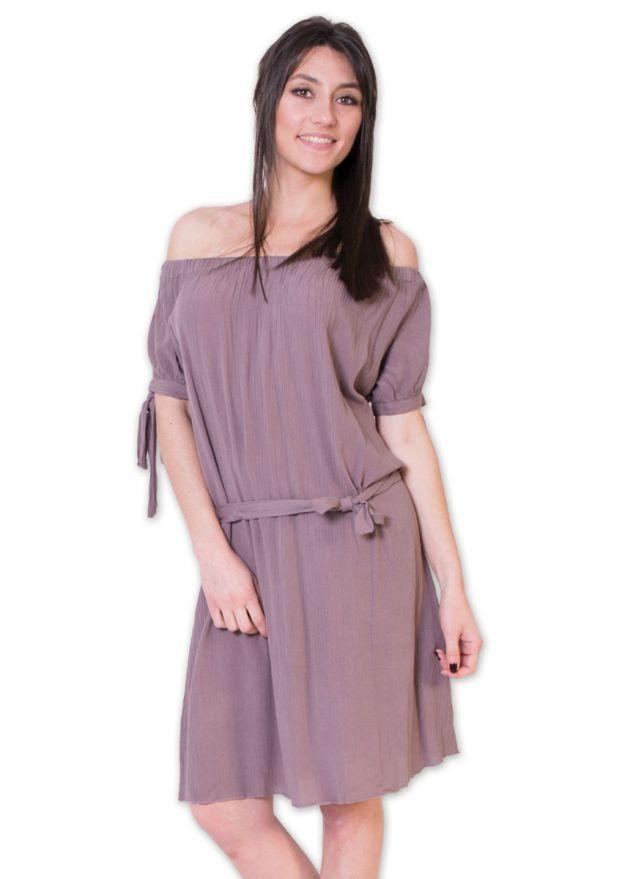 robe-viscose-crêpe-maryline-taupe