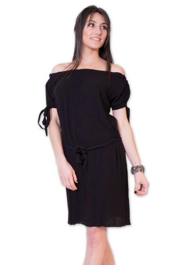robe-viscose-crêpe-maryline-noir