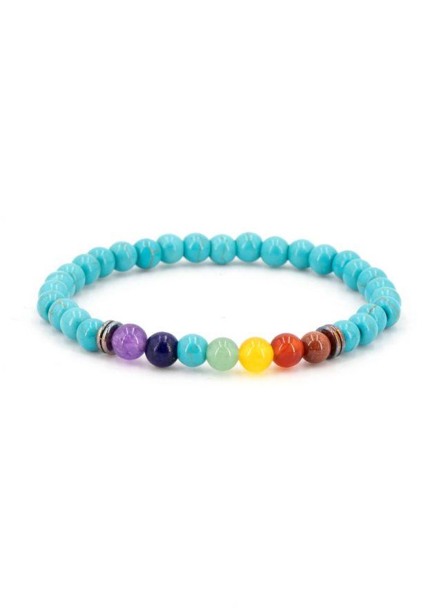 bracelet chakra turquoise produit