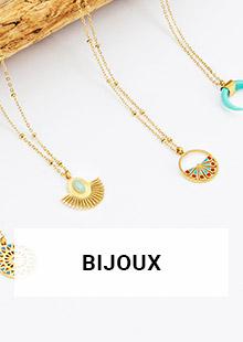 bijoux accessoires 2020 mode femme coton du monde