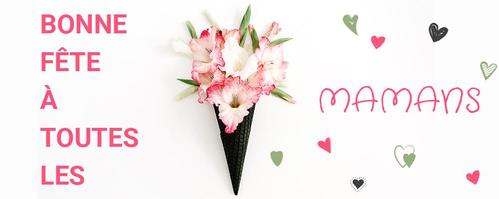 Fête des mères fleurs