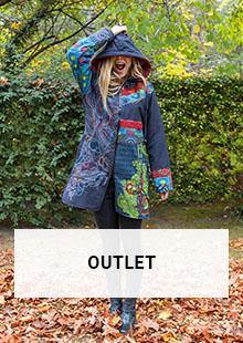 destockage automne hiver outlet mode vêtements femme ethnique