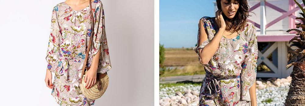 Robe Luciana Manches Longues Mode Femme Ethnique Printemps 2021
