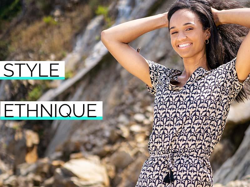 style ethnique mode femme
