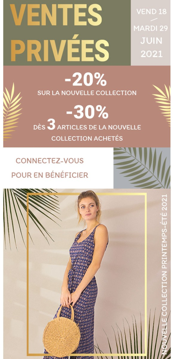 ventes privees été 2021 coton du monde vêtements en ligne mode femme ethnique